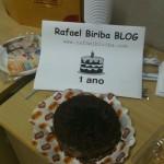 Bolo ou tortinha simbólica da festa...