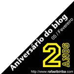 Banner comemorativo lateral